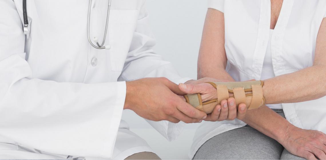 Κάταγμα στην οστεοπόρωση
