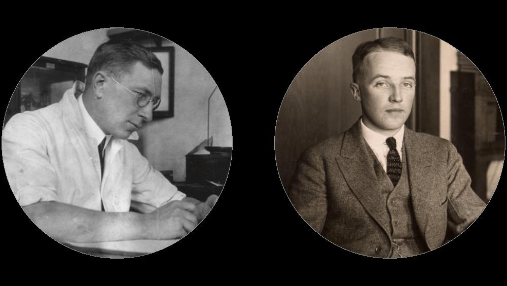 Ο Frederick Banting και ο Charles Best, μαζί ανακάλυψαν την ινσουλίνη ((Courtesy of the Thomas Fisher Rare Book Library, University of Toronto)