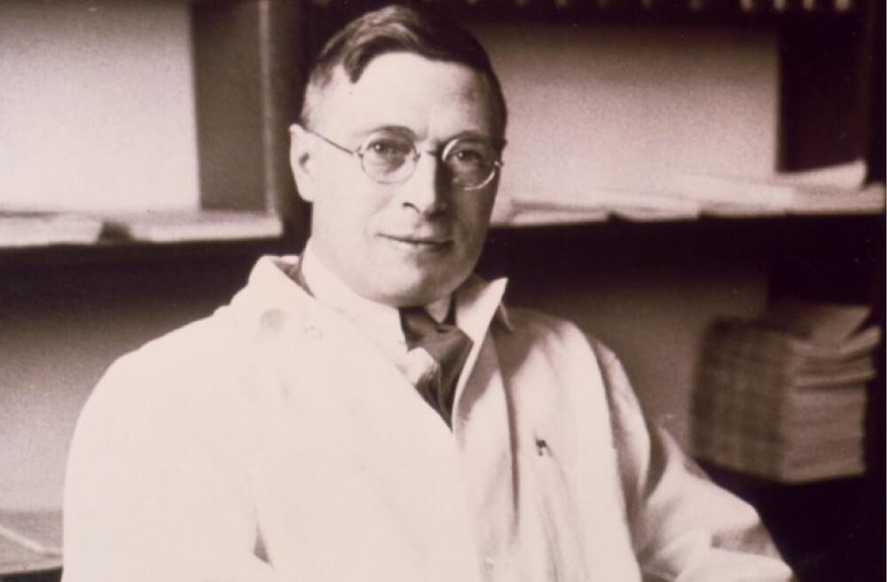 James Collip, υπεύθυνος για την κάθαρση της ινσουλίνης (Courtesy of the Thomas Fisher Rare Book Library, University of Toronto)