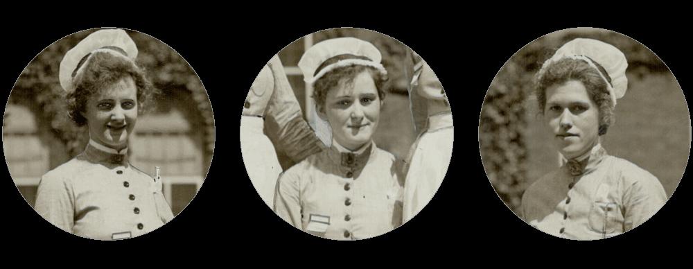 Νοσηλεύτριες στο Πανεπιστήμιο του Τορόντο, τη δεκαετία 1920